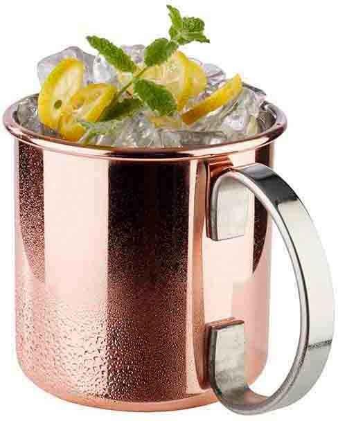 APS Becher »Moscow Mule«, Edelstahl, 450 ml, Becher-Set in glänzender Optik, 4-teilig
