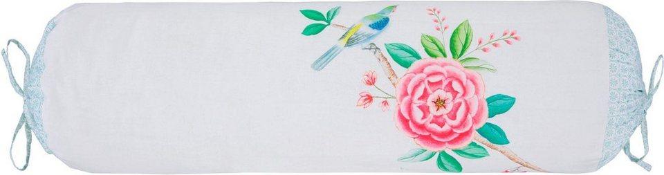 Nackenrolle Good Morning Pip Studio Mit Blumen Und Kranich Online Kaufen Otto