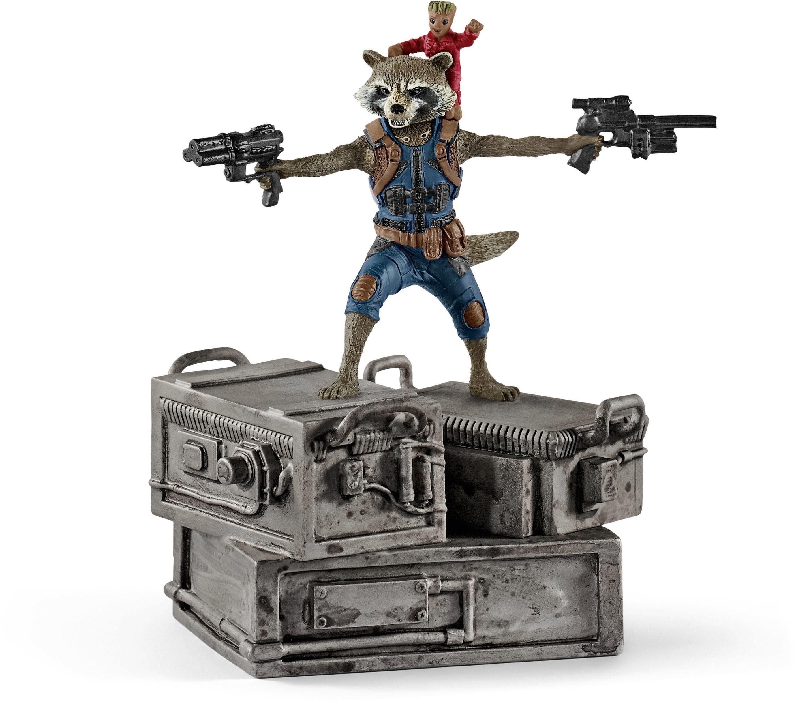 Schleich® Spielfigur (21514), »Marvel, Rocket & Groot«