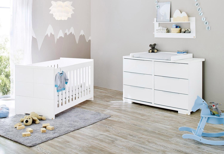 Pinolino Babyzimmer-Set (2-tlg.), Sparset, »Polar extrabreit«