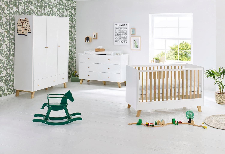 Pinolino Babyzimmer Set (3-tlg) Kinderzimmer, »Pan extrabreit groß«