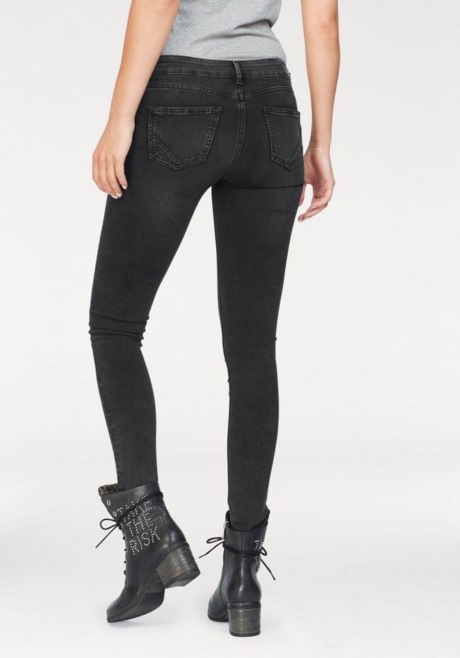 3285e63a7e8d Pepe Jeans Skinny-fit-Jeans »PIXIE STARS« mit Sternen-Print online ...