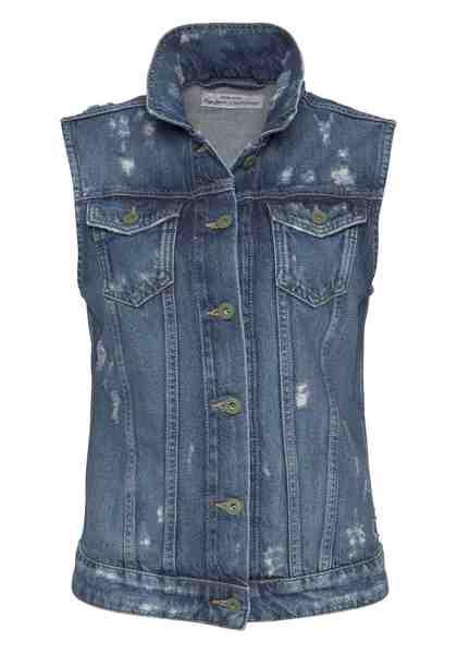 Pepe Jeans Jeansweste »SUZI« nachhaltig produziert