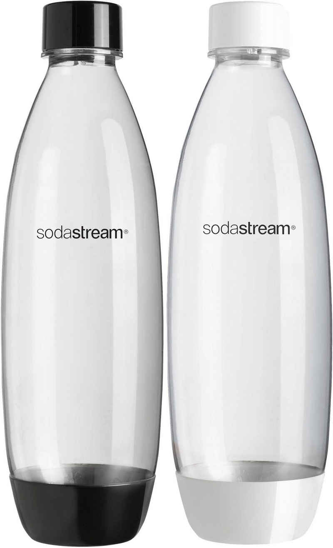 SodaStream Wassersprudler Flasche, (Set, 2-tlg), passend für den SodaStream »Easy«