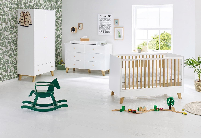 Pinolino Babyzimmer Set (3-tlg) Kinderzimmer, »Pan extrabreit«