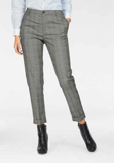 pepe jeans bgelfaltenhose irene mit feinem karo muster - Jeans Mit Muster