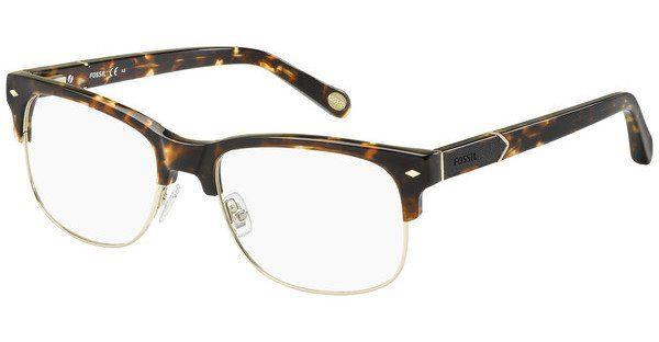 Fossil Herren Brille » FOS 6076«, braun, RWG - braun