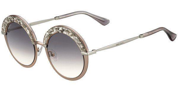 JIMMY CHOO Jimmy Choo Damen Sonnenbrille » GOTHA/S«, rosa, 68I/9C - rosa/grau