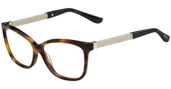 JIMMY CHOO Jimmy Choo Damen Brille » JC105«, schwarz, INN - schwarz