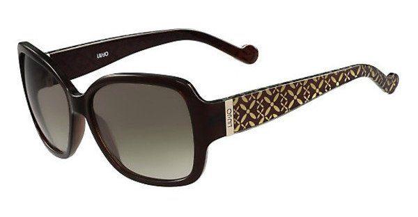Liu Jo Damen Sonnenbrille » LJ661S«, schwarz, 400 - schwarz