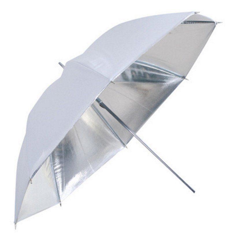 Bresser Fotostudio »SM-04 Reflexschirm weiß/silber 83cm«