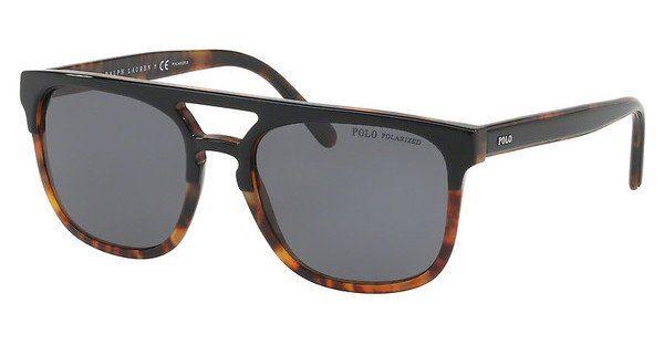 Polo Herren Sonnenbrille » PH4125«, schwarz, 526081 - schwarz/grau