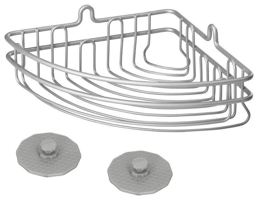 METALTEX Duschablage »Artic Eckregal«, Easy Fix, Breite 19 cm