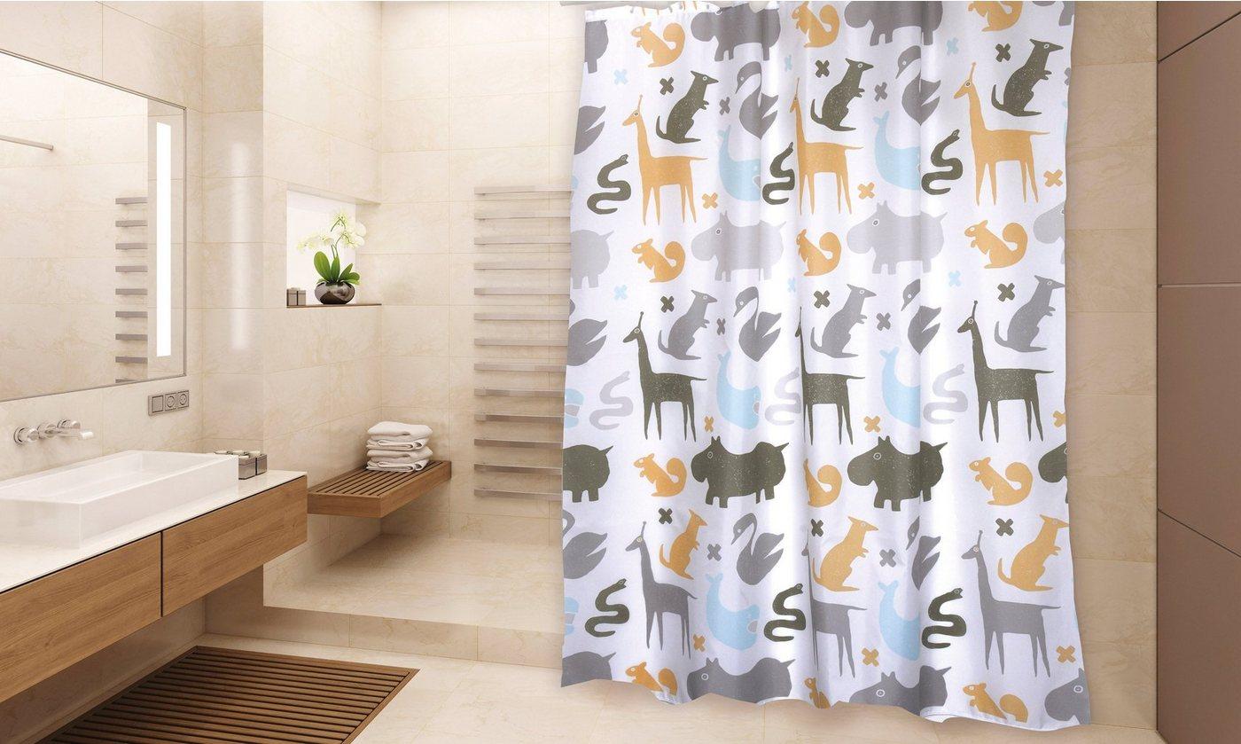 Duschen und Zubehör - MSV Duschvorhang »PREMIUM NOE«, Breite 180 cm  - Onlineshop OTTO