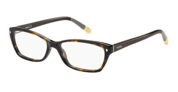 Fossil Damen Brille » FOS 6023«, braun, GVL - braun