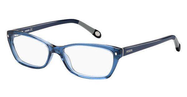 Fossil Damen Brille » FOS 6023«, blau, GVM - blau