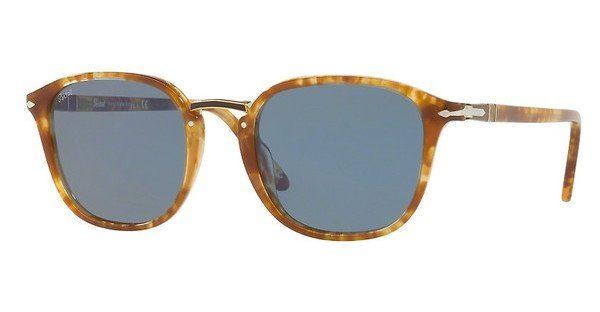 PERSOL Persol Herren Sonnenbrille » PO3184S«, braun, 106456 - braun/blau