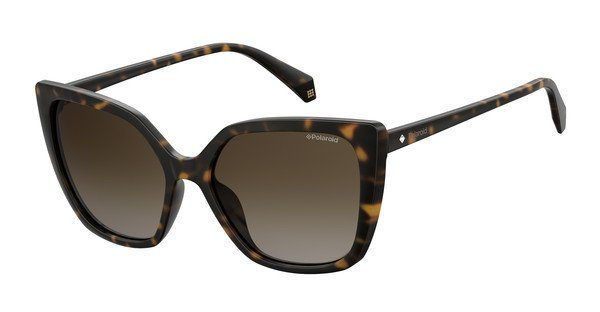 Polaroid Damen Sonnenbrille » PLD 4058/S«, braun, 086/LA - braun/braun