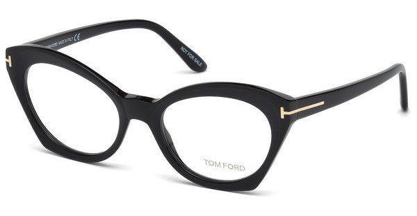 Tom Ford Damen Brille » FT5456«, schwarz, 002 - schwarz