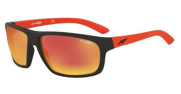 Arnette Herren Sonnenbrille »BURNOUT AN4225«, schwarz, 23766Q - schwarz/rot