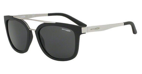 Arnette Herren Sonnenbrille »JUNCTURE AN4232«, schwarz, 01/87 - schwarz/grau