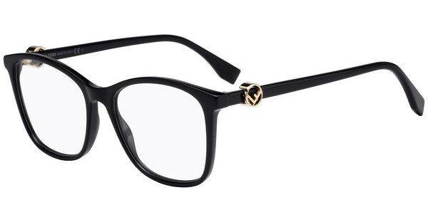 FENDI Fendi Damen Brille » FF 0272«, schwarz, 807 - schwarz