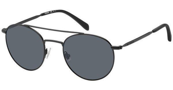 Fossil Herren Sonnenbrille » FOS 3069/S«, schwarz, 003/IR - schwarz/grau