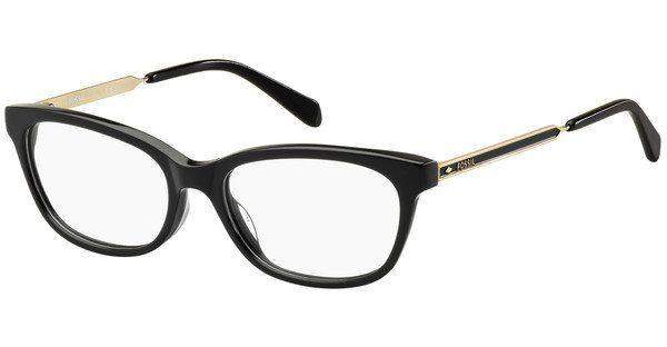 Fossil Damen Brille » FOS 7010«, schwarz, 807 - schwarz