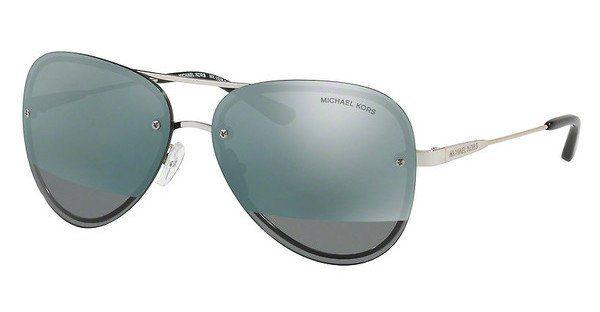 Michael Kors Sonnenbrille Mk1026, Uv400, silbern