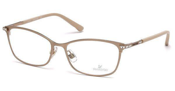 Swarovski Damen Brille » SK5187«, braun, 049 - braun