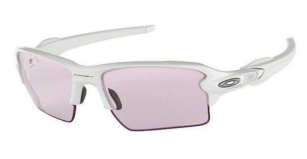 Oakley Herren Sonnenbrille »FLAK 2.0 XL OO9188«, weiß, 918888 - weiß