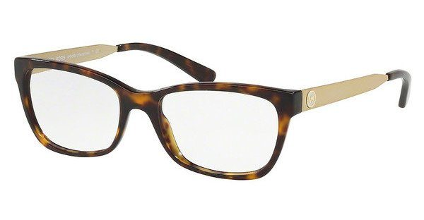 MICHAEL KORS Michael Kors Damen Brille »MARSEILLES MK4050«, braun, 3293 - braun