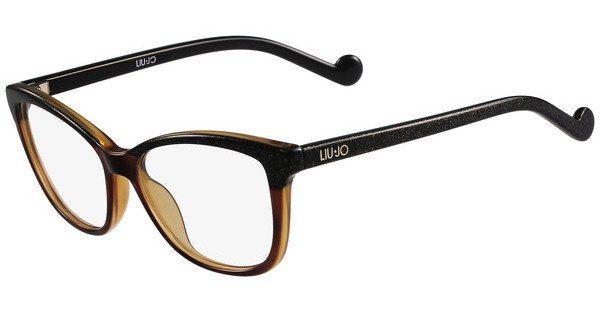 Liu Jo Damen Brille » LJ2639«, schwarz, 001 - schwarz