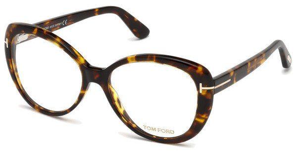 Tom Ford Damen Brille » FT5492«, braun, 045 - braun