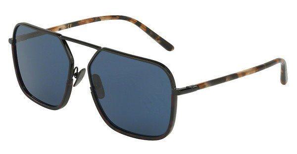DOLCE & GABBANA Dolce & Gabbana Herren Sonnenbrille » DG2193J«, schwarz, 01/80 - schwarz/blau
