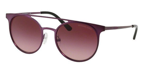 MICHAEL KORS Michael Kors Damen Sonnenbrille »GRAYTON MK1030«, lila, 11588H - lila/rot