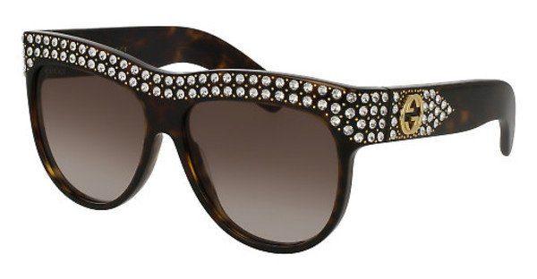 GUCCI Damen Sonnenbrille »GG0147S«