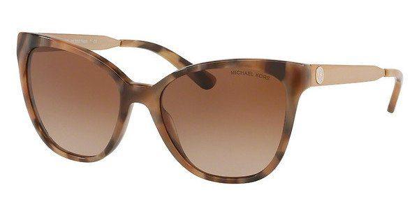 MICHAEL KORS Michael Kors Damen Sonnenbrille »NAPA MK2058«, braun, 331113 - braun/braun