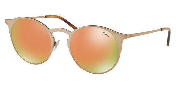 Polo Herren Sonnenbrille » PH3113«, rosa, 93344Z - rosa/ gold