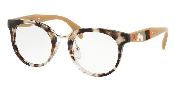PRADA Prada Damen Brille » PR 03UV«, braun, UAO1O1 - braun