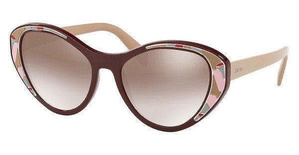 PRADA Prada Damen Sonnenbrille » PR 14US«, braun, YEO6X1 - braun/lila
