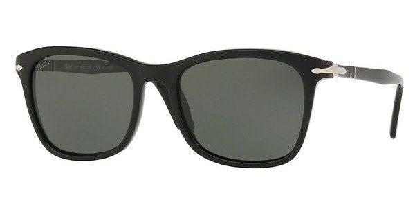 PERSOL Persol Herren Sonnenbrille » PO3192S«, schwarz, 95/58 - schwarz/grün