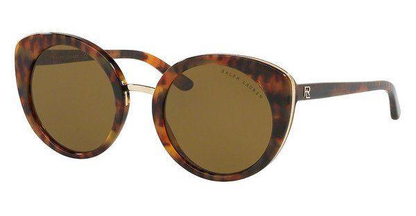 Ralph Lauren Damen Sonnenbrille » RL8165«, braun, 501773 - braun/grün
