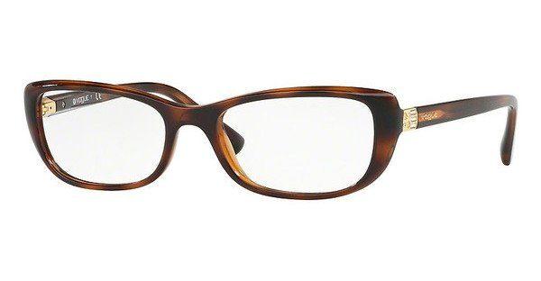VOGUE Vogue Damen Brille » VO5169B«, braun, 2386 - braun