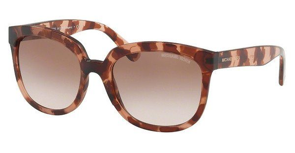 MICHAEL KORS Michael Kors Damen Sonnenbrille »PALMA MK2060«, rosa, 333713 - rosa/ orange