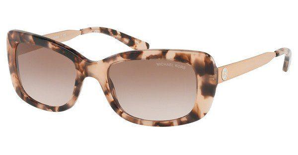MICHAEL KORS Michael Kors Damen Sonnenbrille »SEVILLE MK2061«, rosa, 316213 - rosa/ orange