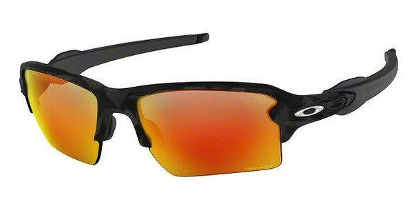 Oakley Herren Sonnenbrille »FLAK 2.0 XL OO9188«, schwarz, 918858 - schwarz/blau