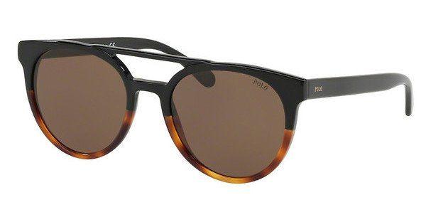 Polo Herren Sonnenbrille » PH4134«, schwarz, 558173 - schwarz/braun