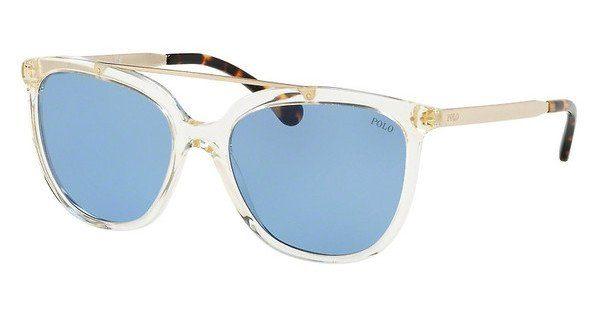 Polo Damen Sonnenbrille » PH4135«, grau, 503472 - grau/blau