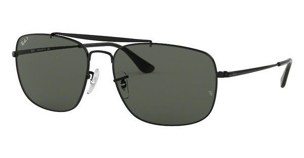 RAY BAN RAY-BAN Herren Sonnenbrille »THE COLONEL RB3560«, schwarz, 002/58 - schwarz/grün